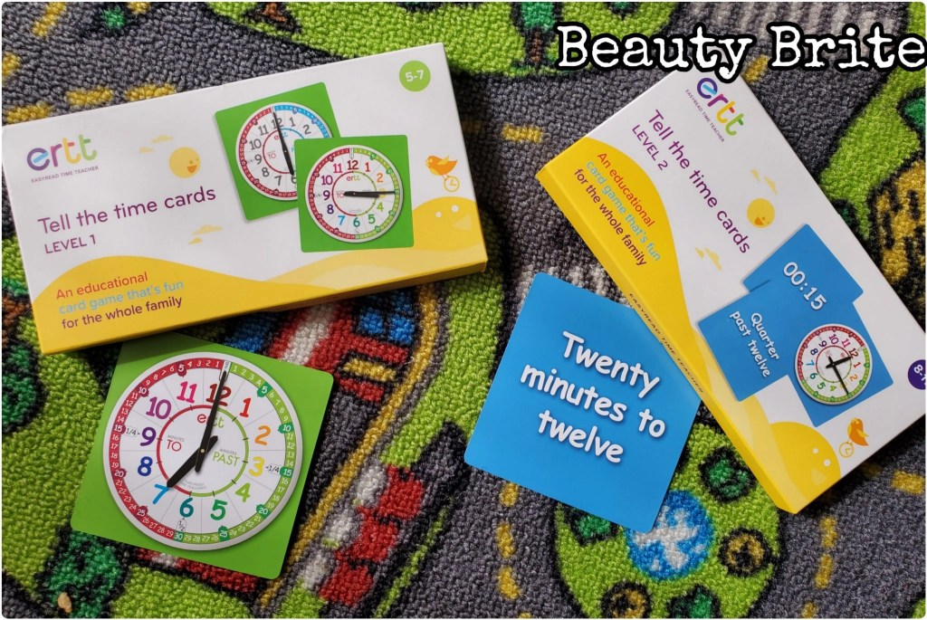 Easy Read Time Teacher Play Cards