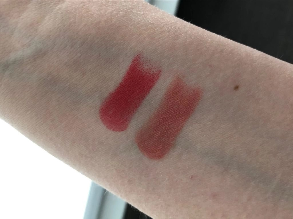 Swatches of Swedish Jealousy lipsticks