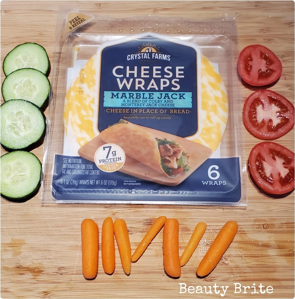 Crystal Farms Marble Jack Cheese Wrap