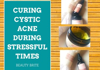 Curing Cystic Acne During Stressful Times