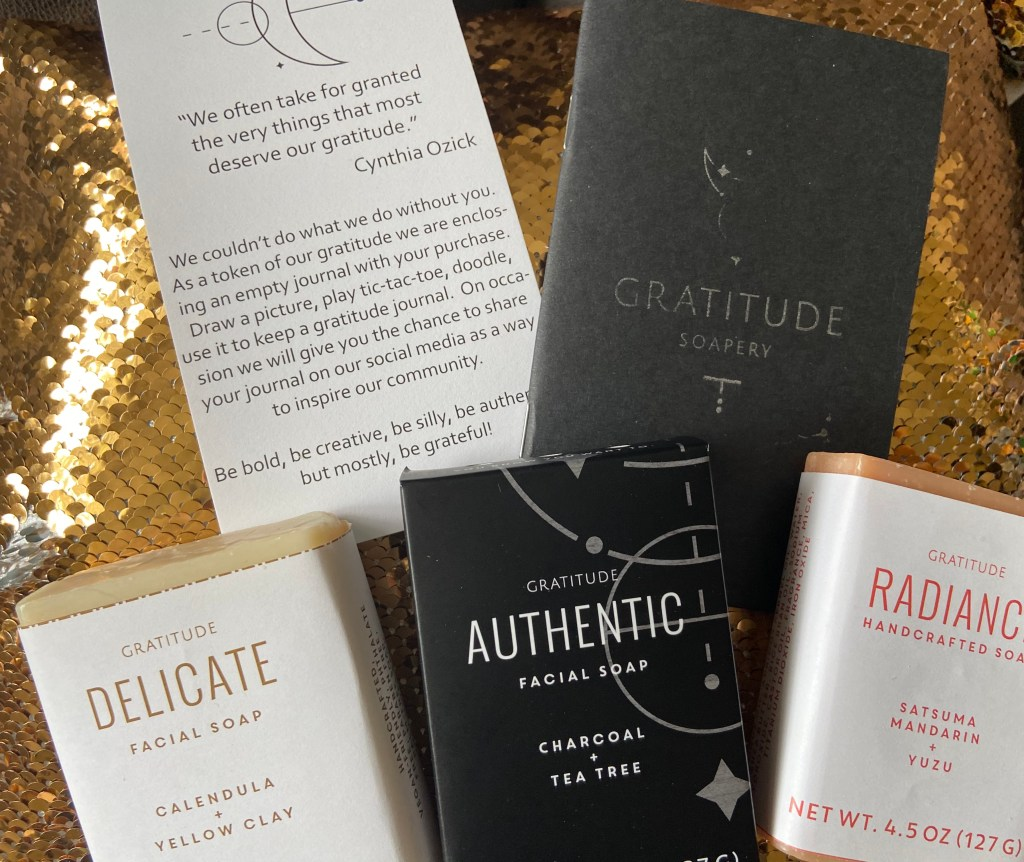 Gratitude Soapery, Hand-made Soaps For Positive Vibes