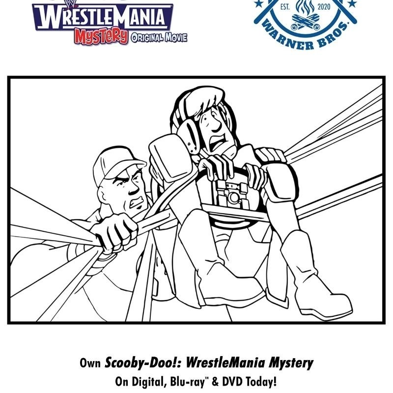 Virtual #CampWarnerBros Week 4 - Scooby-Doo!: WrestleMania Mystery