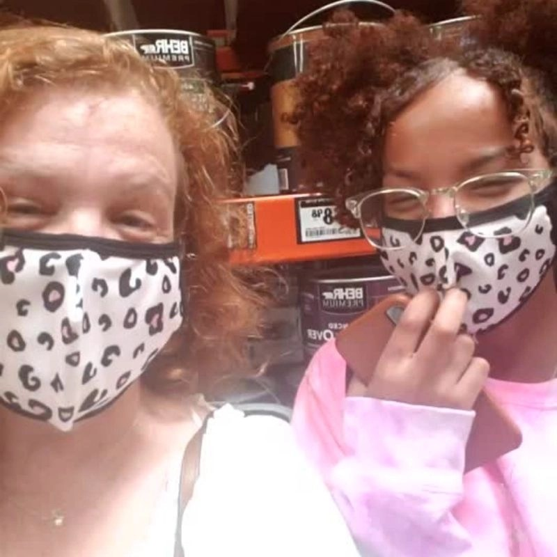 Products To Have On Hand When You Go Shopping! The Leotard Boutique- Mom and Me Matching Face Masks - 2 pack