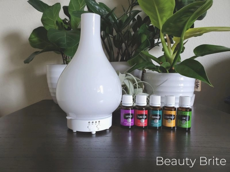 Lucia™ Artisan Diffuser and essential oils