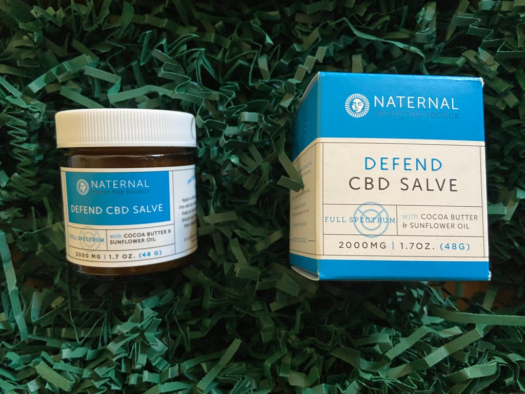 Naternal CBD Salve