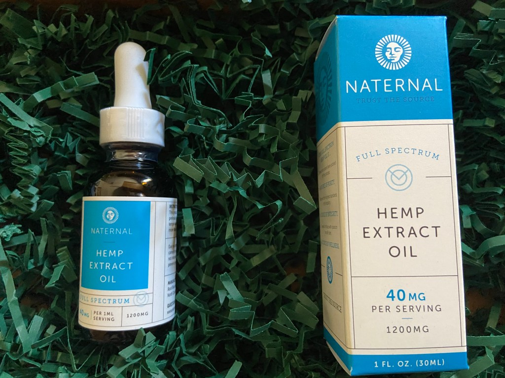 Naternal Full Spectrum Hemp Extract Oil