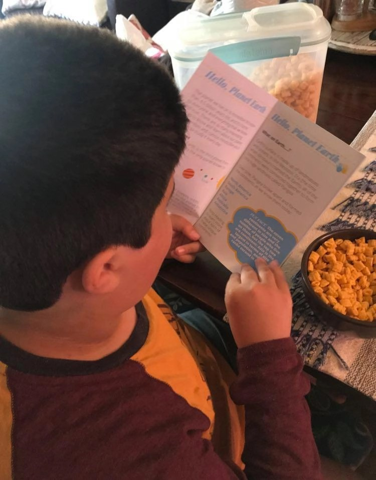 Reading about the Planet