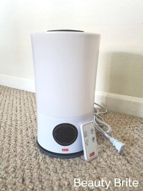 American Red Cross Remote Control Ultrasonic Humidifier with remote