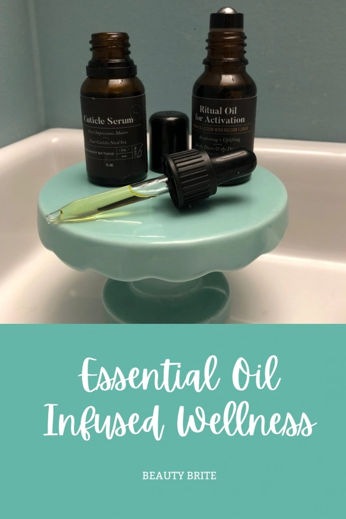 Essential Oil Infused Wellness - MIG Living Ritual Oil and Cuticle Oil