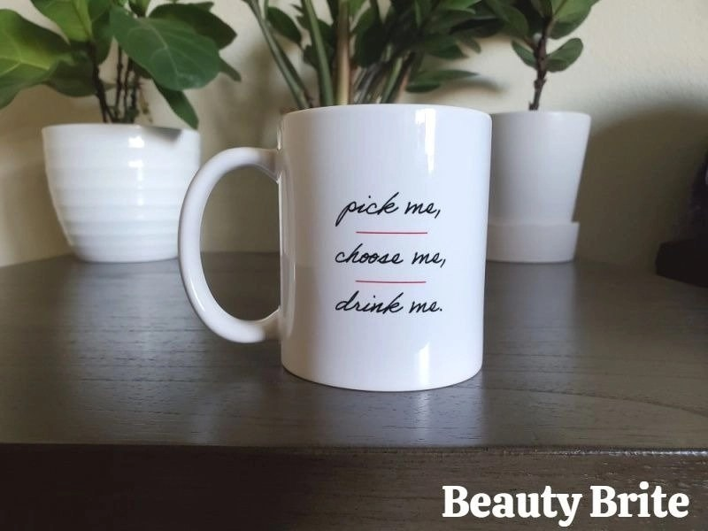 Greys Anatomy Pick Me Choose Me Drink Me Mug