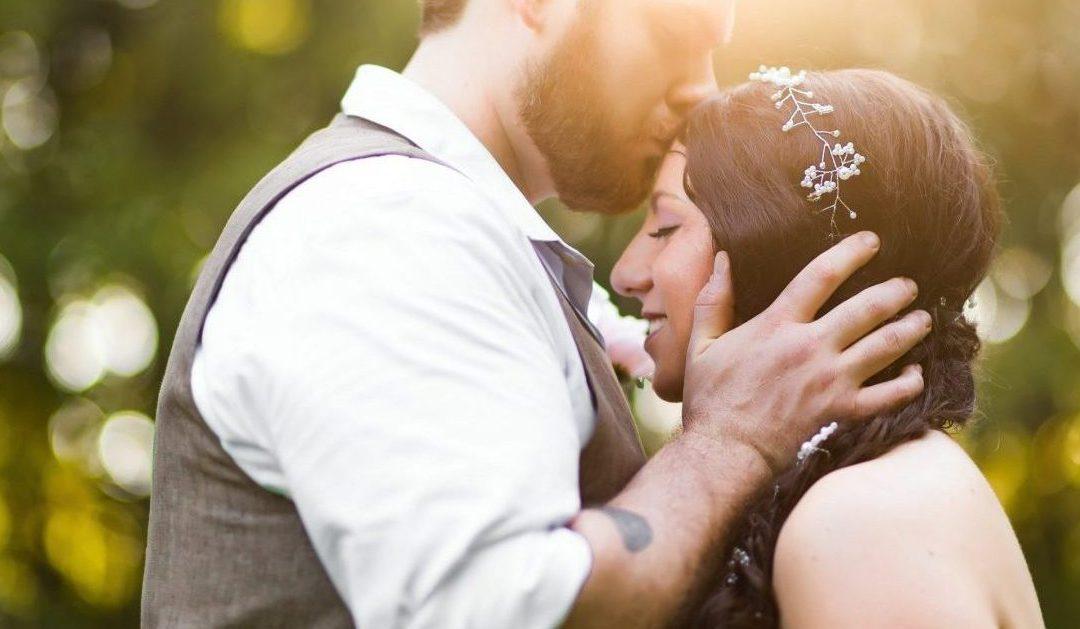 Stephanie & Matt's Intimate Outdoor Wedding