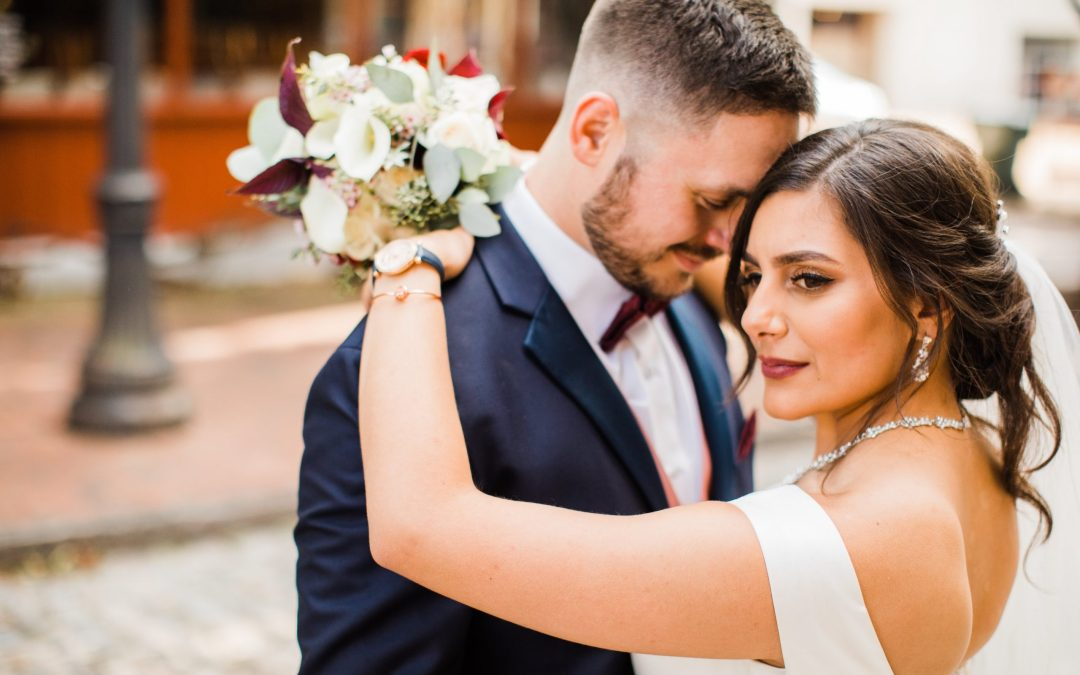 Shefa & Louis's Sophisticated Downtown Wedding