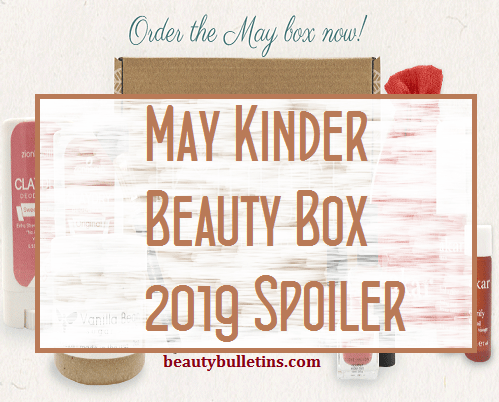 kinder-may 2109 spoiler