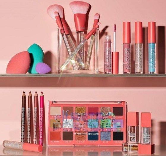 elf Cosmetics NEW Coleção Retro Paradise