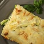 Zucchini-Quark-Lasagne (Low Carb)