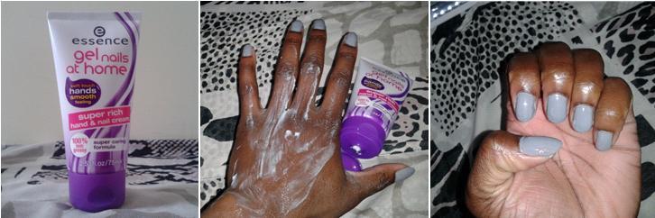 Farah Essence nails at home set-