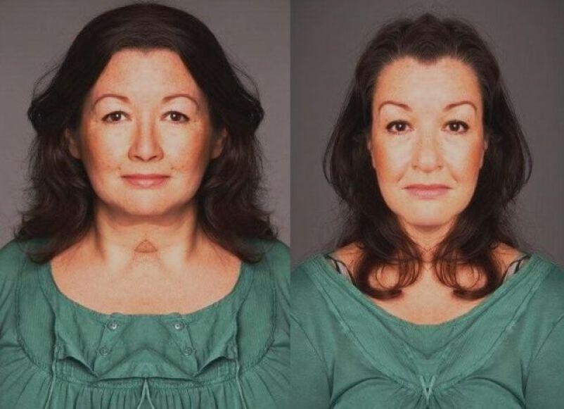 Symmetrisch gezicht 3