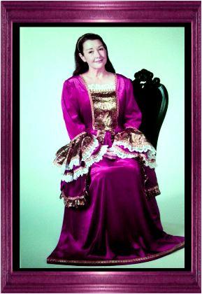 middeleeuwse jurk feestkasteel