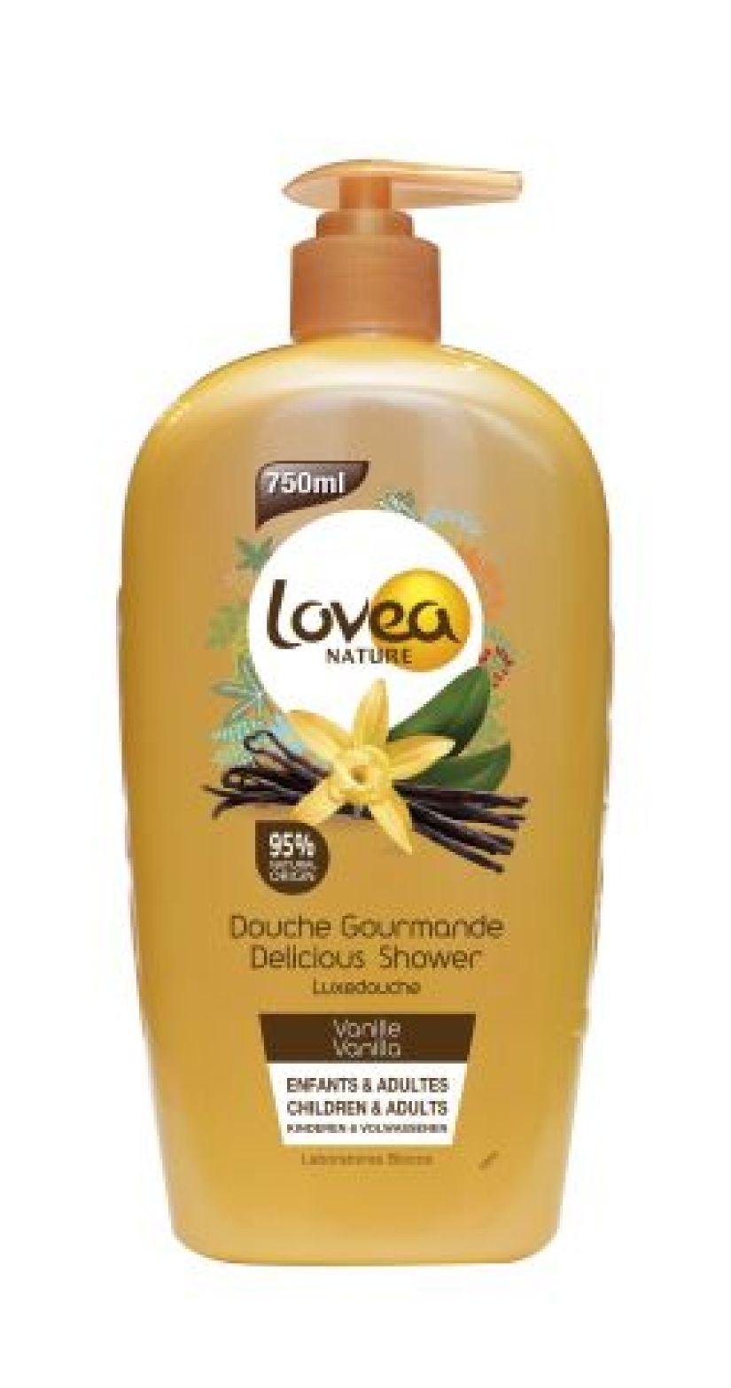 Lovea Nature Delicious vanilla shower