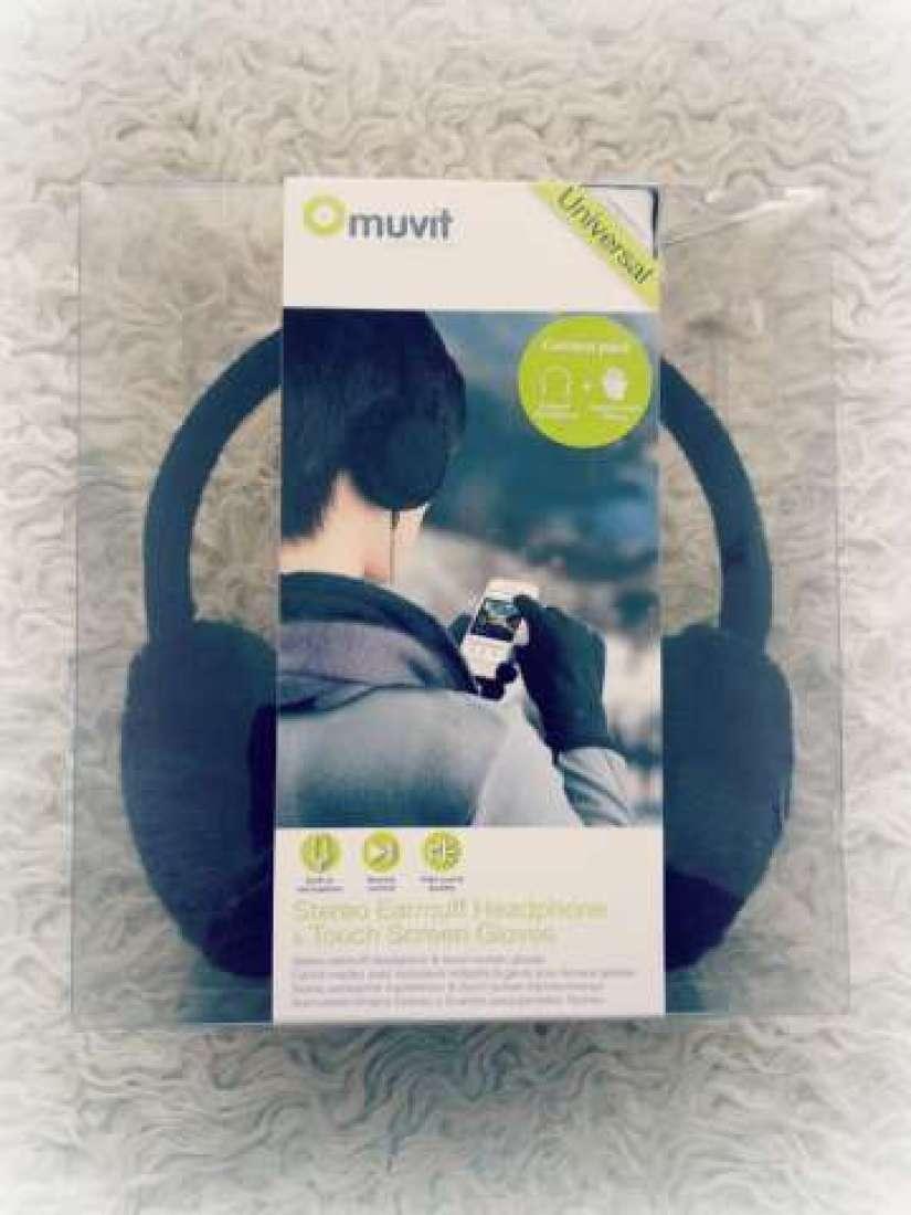 Muvit koptelefoon oorwarmers