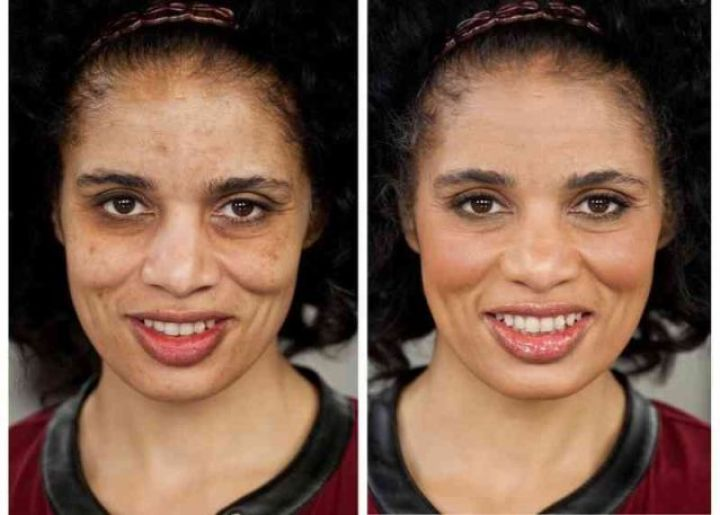 Colorescience make over woman hyperpigmentation dark skin