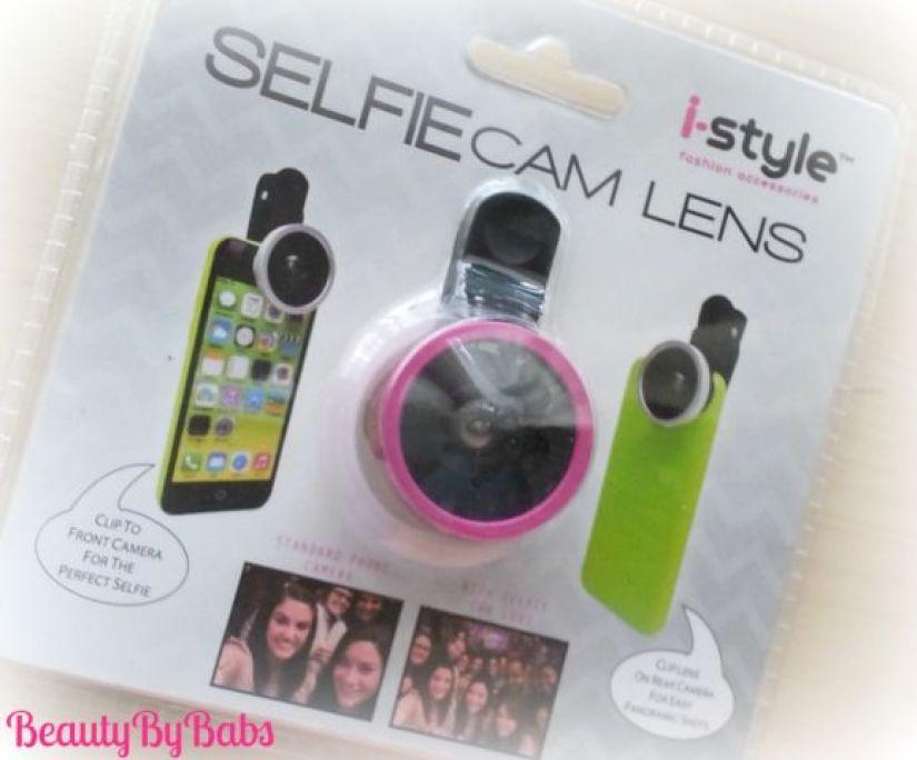 SelfieCam lens