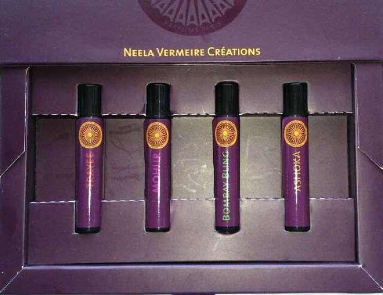 4 geuren van Neela Vermeire creations