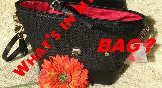 tas what's in my bag