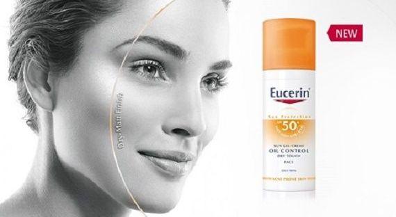 Eucerin Sun Oil Control SPF 50+ biedt zonbescherming speciaal voor de vette of acnegevoelige huid 9 Eucerin Eucerin Sun Oil Control SPF 50+ biedt zonbescherming speciaal voor de vette of acnegevoelige huid