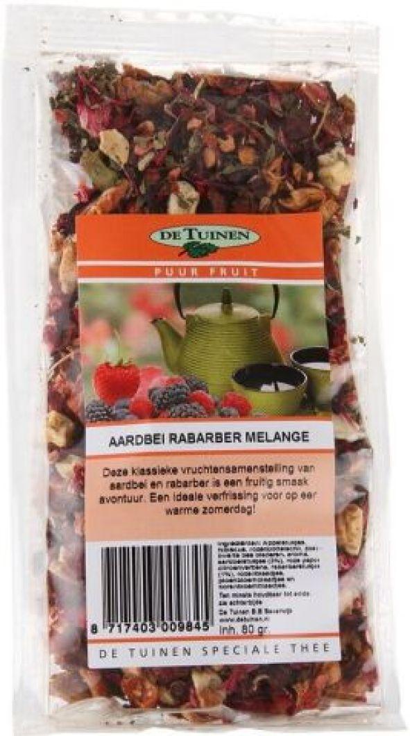 Aardbei-Rabarber-Melange