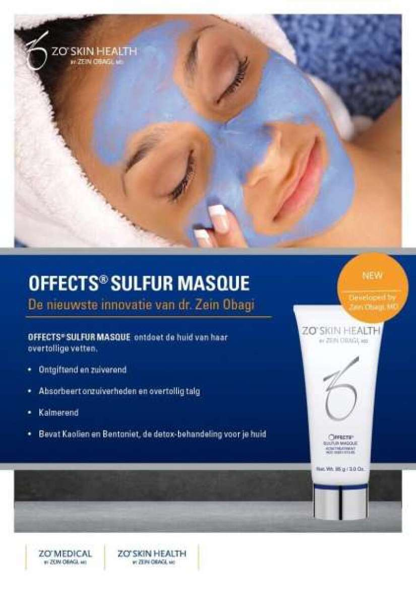 Offects Sulfur Masque NEW