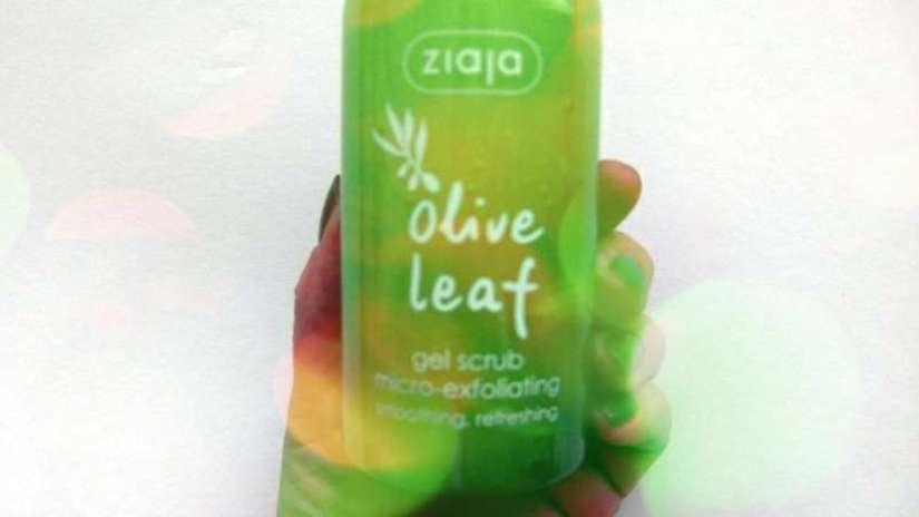 ziaja olive leaf scrub