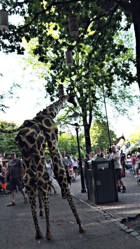 efteling-giraf