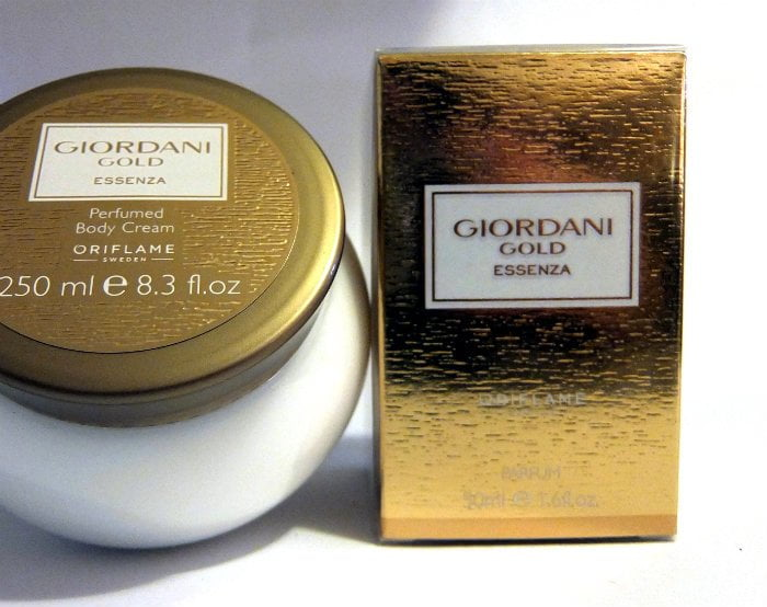 oriflame giordani gold bodycream