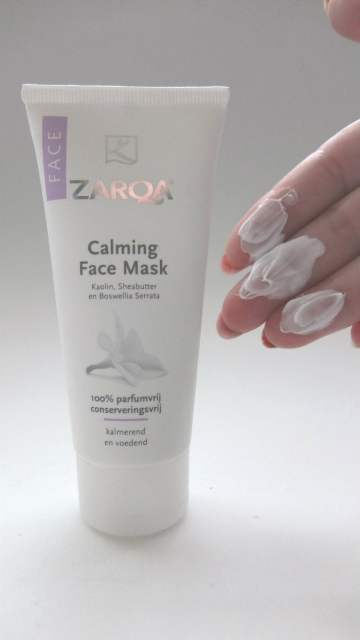 zarqa calming face mask