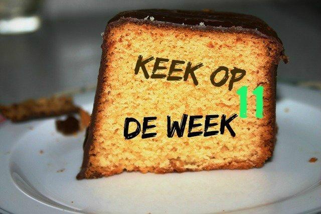 cake keek op de week 11