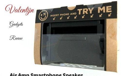 air amp versterker smartphone boven