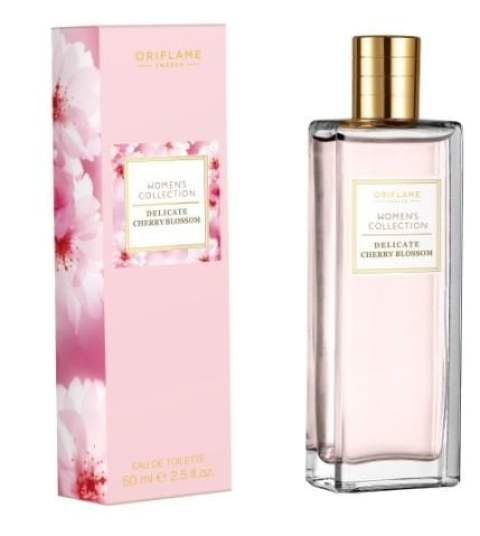 Oriflame Women's Collection Delicate Cherry Blossom EDT Box and Bottle HR