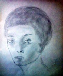 tekening vrouw