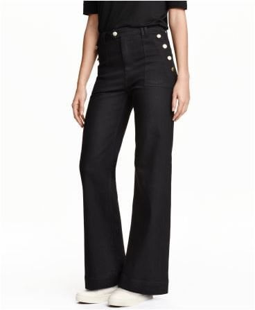 H&M flared jeans