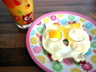 gebakken ei Fred de uil met sinaasappelsap