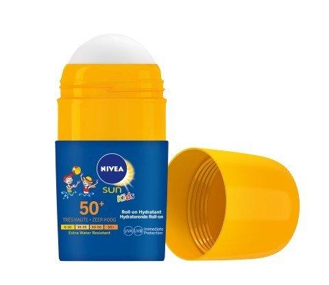 NIVEA SUN Kids Roll-on SPF 50+_HR_open