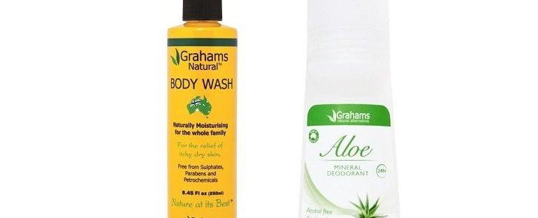 Grahams Body Wash en deodorant