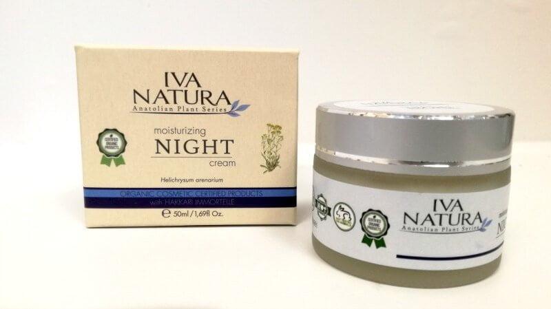 iva natura moisturizing nicht cream