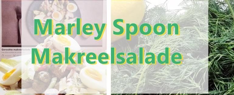 makreel salade marley spoon food u