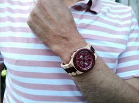 houten horloge timer rood (6)