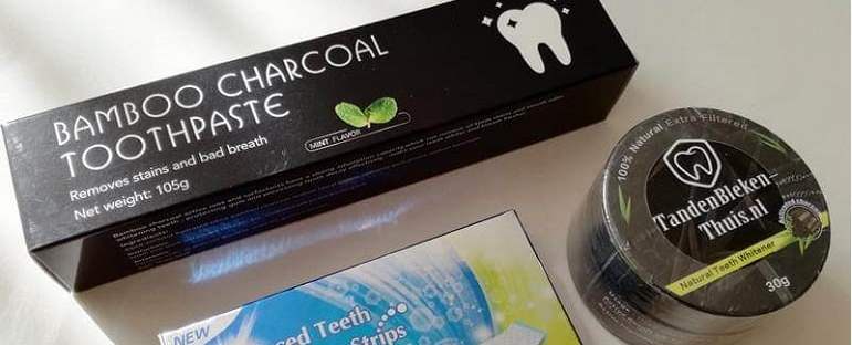 charcoal whitening