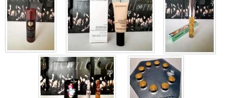 collage adventskalender care cosmetics