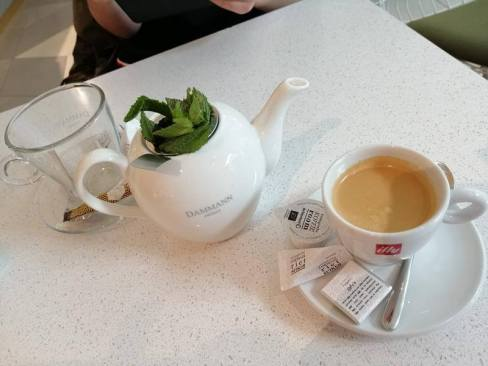 koffie en thee bijenkorf