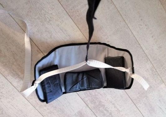 neck hammock aangepast